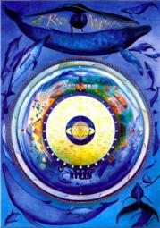 Erdmandala Poster A1