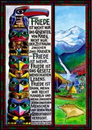 Frieden indianischA3 Poster