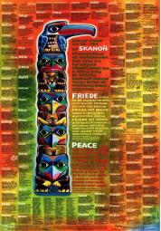 Peaceposter 68 x 98 cm