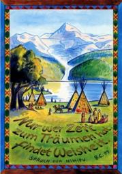 Zeit zum träumen Postkarte